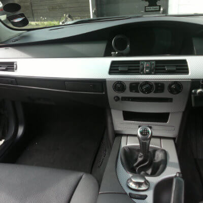 bmw interior wrap