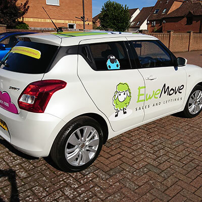 car graphic wycombe
