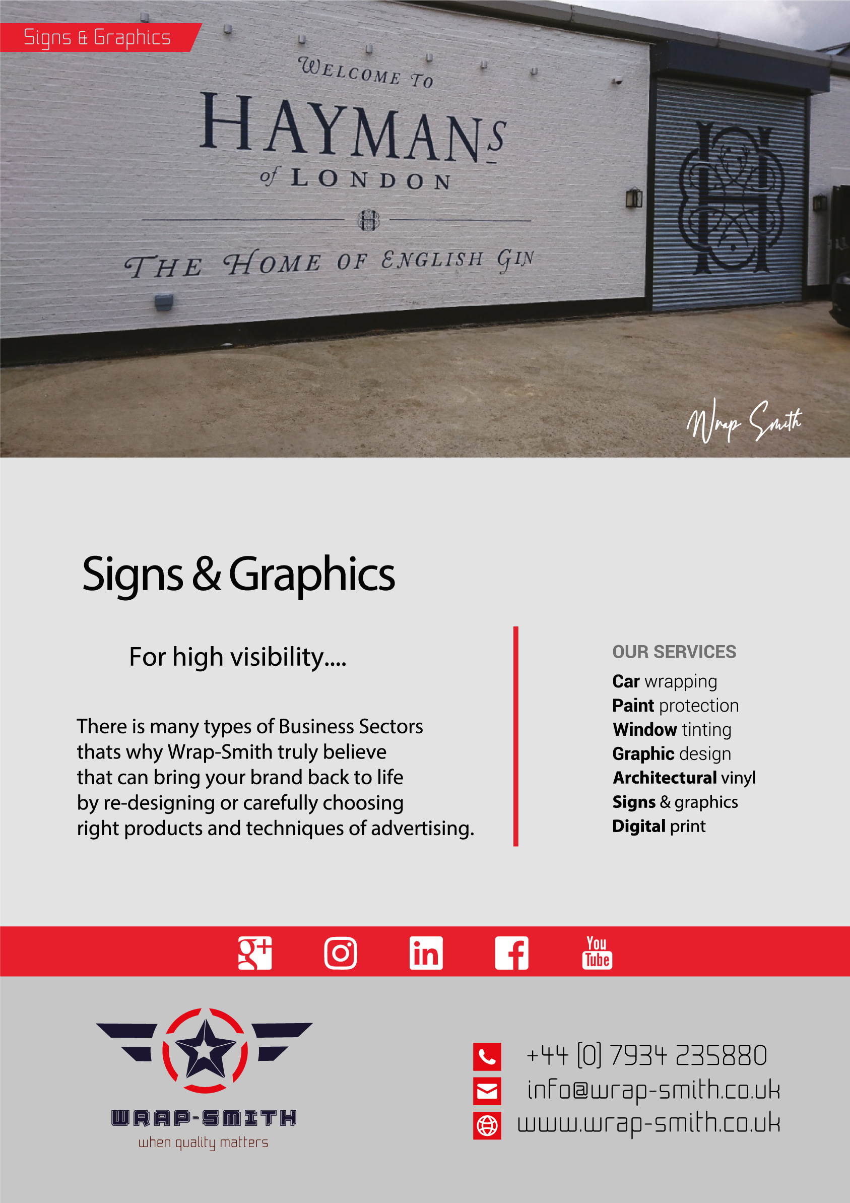 signs and graphics