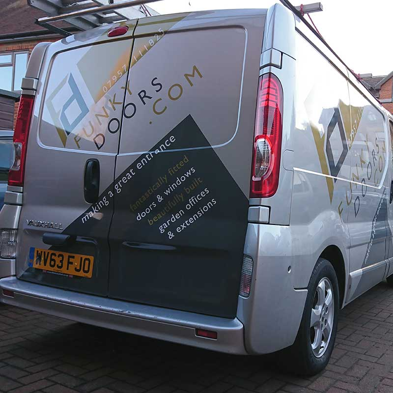 van wrapping wycombe