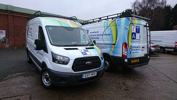 RTA Commercial Van Wrapping