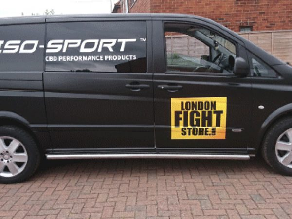 London van wrap