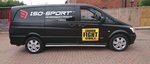 Van Wrap, Branding, Cage Warriors London.