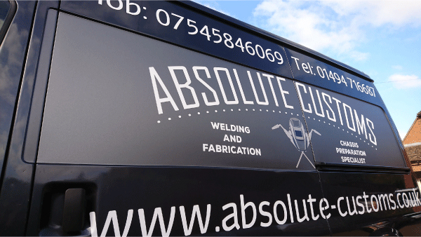 Absolute Customs Van