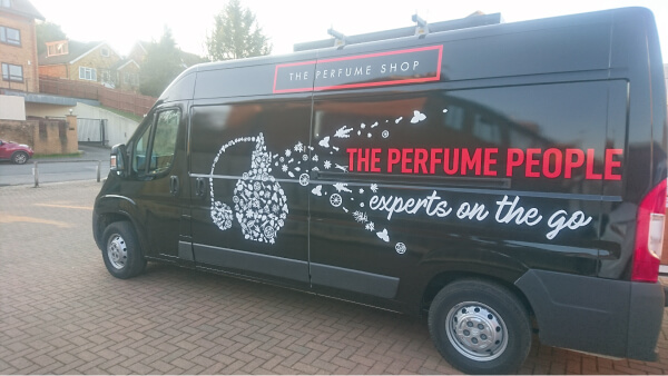 Full Van Wrap for The Perfume People
