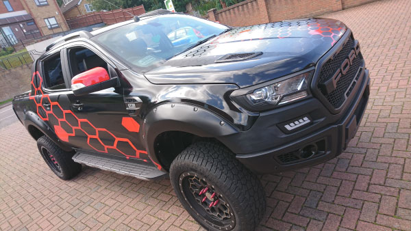 Ford Ranger Full Wrap
