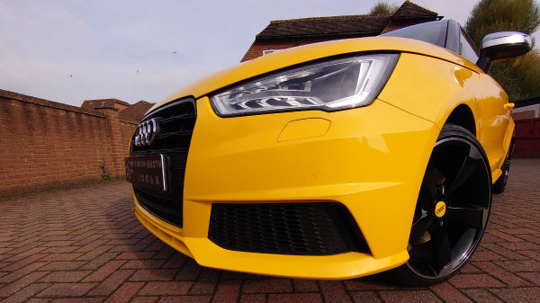 Audi S1 full car wrap