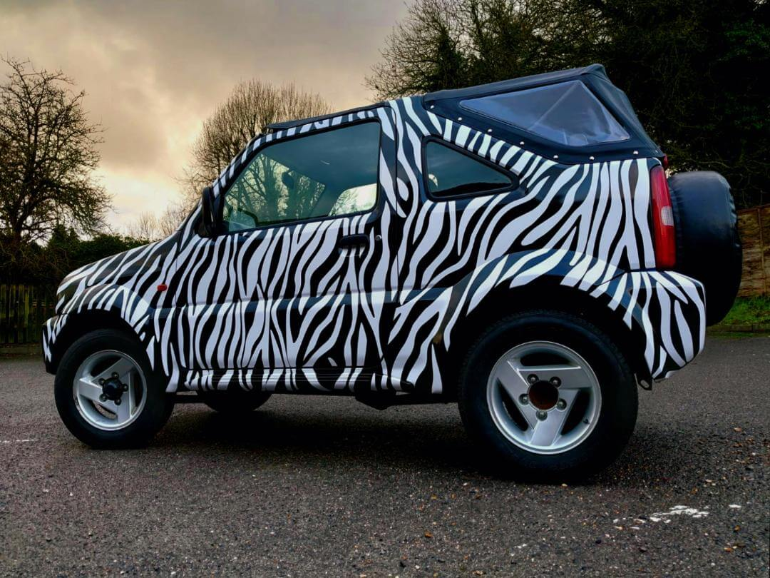 Urban Safari – car wrap